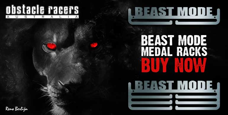 Beast Mode Medal Rack